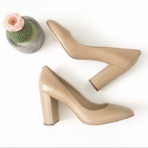 Sam Edelman Shoes - Sam Edelman Stillson Leather Pump in Nude
